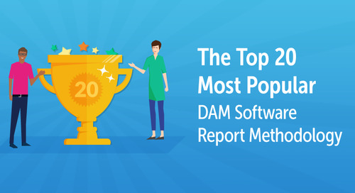 The Top 20 Most Popular DAM Software Report Methodology