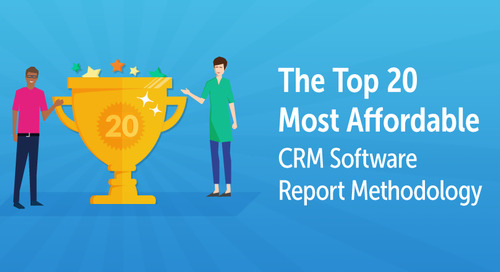 The Top 20 Most Affordable CRM Software Report Methodology