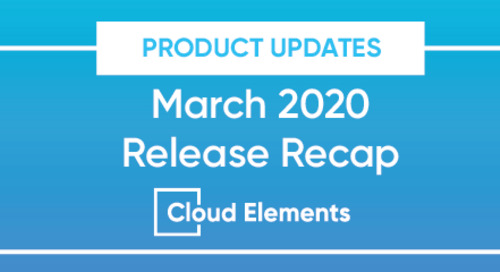 PREVIOUS UPDATE: March 2020 Release Recap