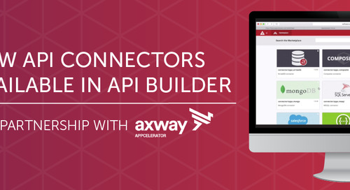 How Axway Leverages Cloud Elements to Deliver 20 New API Connectors