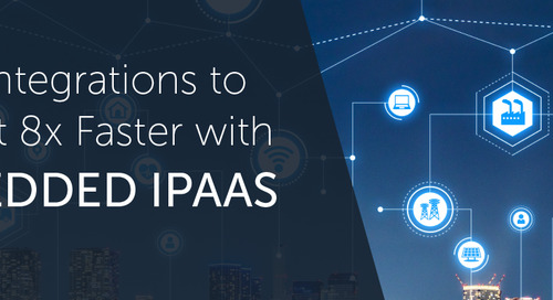 Get Integrations to Market 8x Faster with Embedded iPaaS