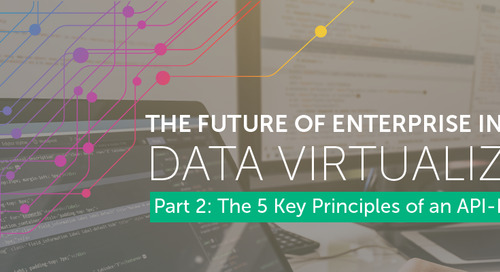 The Future of Enterprise Integration Part 2: The 5 Key Principles of an API-Based APproach to Data Virtualization