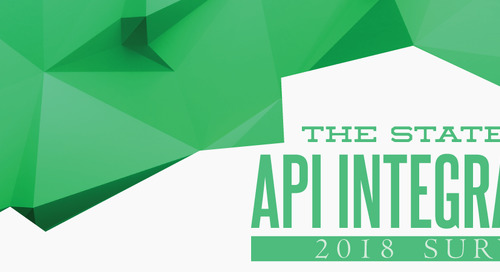 SNEAK PEEK: Results for the 2018 State of API Integration Report