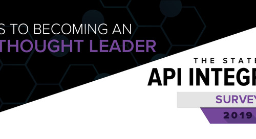 3 Steps to Becoming an API Thought Leader