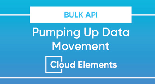 Bulk API: Pumping Up Data Movement