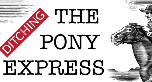 Ditching The Pony Express: Calling Time on Point-to-Point Integration