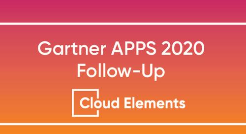 2019 Gartner Application Strategies & Solutions Summit Follow-up