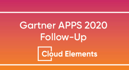 2019 Gartner Application Strategies & Solutions Summit Follow-up