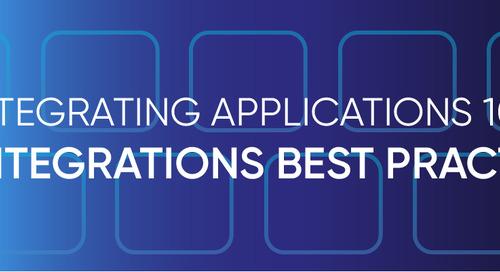 Integrating Applications 101: API Integration Best Practices