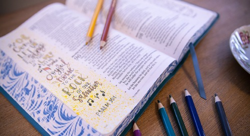 Bible Journaling with Your Kids