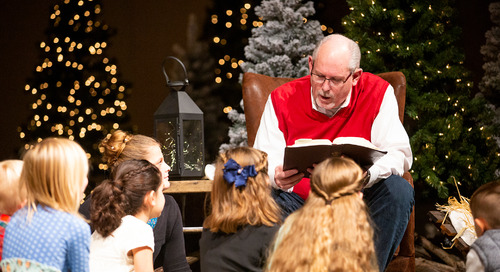 Family-Centered Outreach through Christmas Eve Service