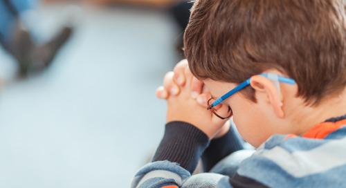 Teaching Children How to Pray