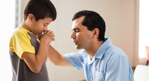 Reminding Children of God's Faithfulness through Prayer