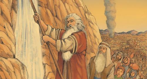Teaching Jesus in the Old Testament: Exodus 17