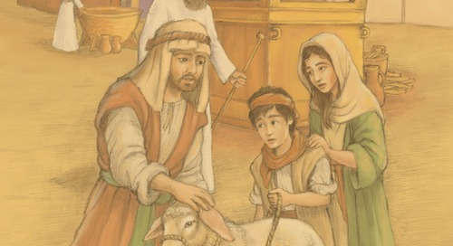 Teaching Jesus in the Old Testament: Leviticus 24