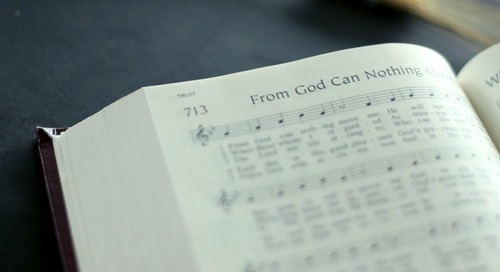 Hymn of the Month: From God Can Nothing Move Me
