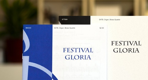 Music of the Month: Festival Gloria