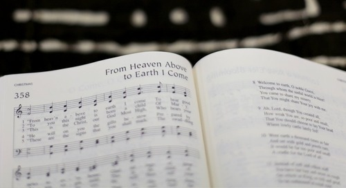Hymn of the Month: From Heaven Above to Earth I Come