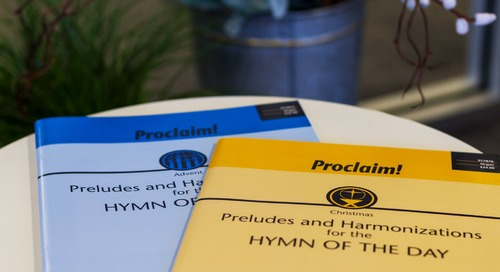Music of the Month: Proclaim! Preludes for Christmas