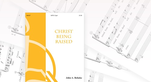 Music of the Month: Christ Being Raised