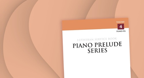 Music of the Month: Piano Prelude Series: Volume 4 (FG)