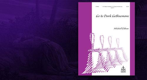 Music of the Month: Go to Dark Gethsemane