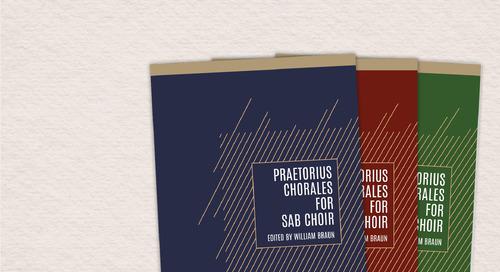 Music of the Month: Praetorius Chorales for SAB Choir