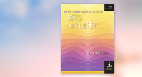 Music of the Month: Notes of Gladness