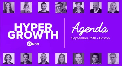 One Stage, One Schedule: The HYPERGROWTH Agenda Is Here