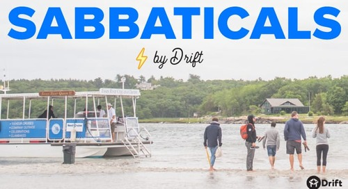 Building Benefits the Drift Way: Introducing Sabbaticals Powered by Drift