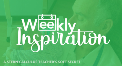 [Weekly Inspiration] This Stern Calculus Teacher Has a Soft Secret