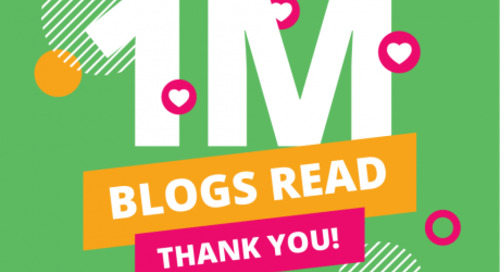 One Million Blogs Read in 2020 – Cue the Confetti!