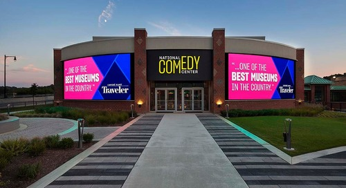 The National Comedy Center – Making the Visitor the Center of the Experience