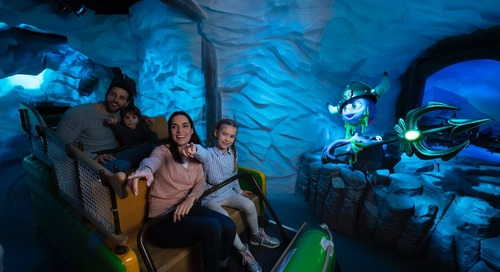 New Dark Ride Plunges Guests Into Mysterious New World