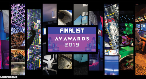 Spotlight on Excellence - Electrosonic Makes the Shortlist