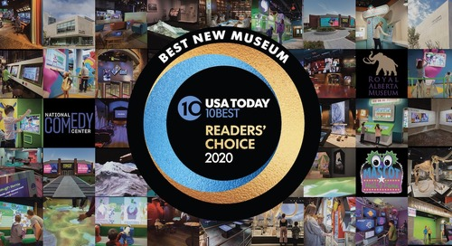 Electrosonic Delivers 3 of 2020's Top 10 Museums
