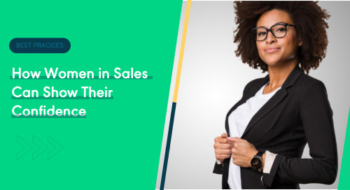 How Women in Sales Can Show Their Confidence