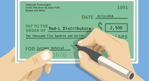 Ka-CHING! Red-L Gets a Referral Bonus from PathGuide Technologies