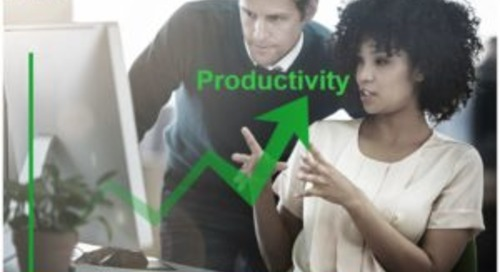Reason #5 To Become an EcoXpert: Improved Productivity