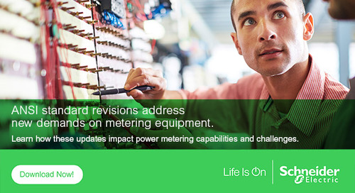 Updated ANSI Standards Address New Power Metering Capabilities and Challenges