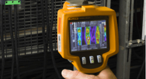 Using thermal imaging to find loose power connections