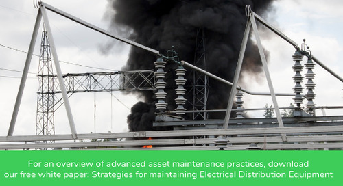 Condition-based Maintenance is a MUST for Electrical Distribution Infrastructure