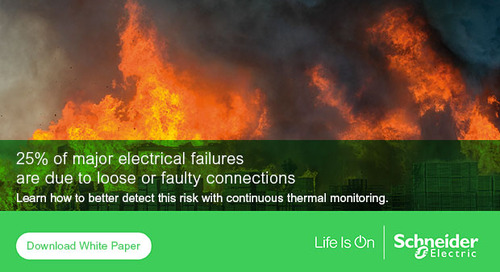 Continuous thermal monitoring reduces electrical fire risks while improving safety