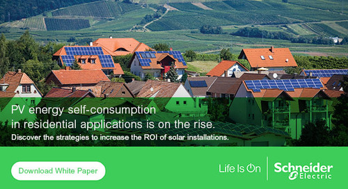 Self-consumption, a way to increase the ROI of your residential solar installation