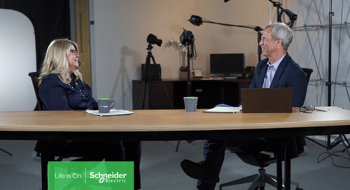 Just Launched! Our New Videocast Executive Insights features Schneider Electric's CIO who Addresses Lessons Learned from a Global Pandemic