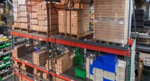 Pallet Rack Guard Panels | Wire Mesh Safety Back Racking