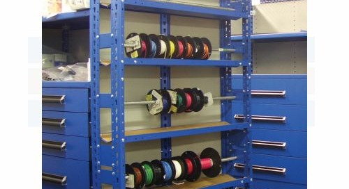 Cable Reel Storage Racks, Carts, & Portable Wire Spool Dispensers