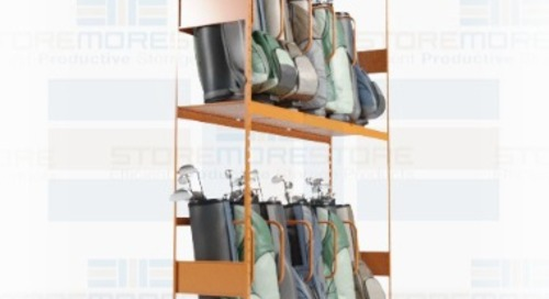 Athletic Gear Storage Solutions for Sports & Fitness Equipment
