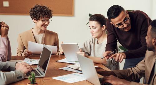 Minska stressen och öka produktiviteten med rätt plattform för teamsamarbete