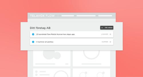 Koll på läget med notiser i Flow Admin